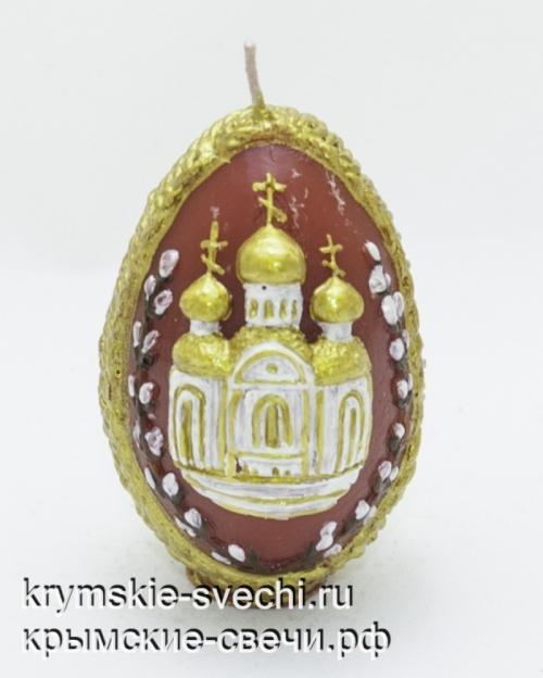 """Яйца пасхальные """"храм"""""""